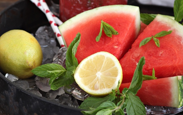 Citrus Mint, Watermelon